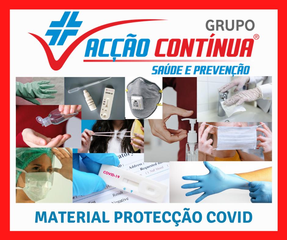 Encomende Produtos de Higiene e Segurança